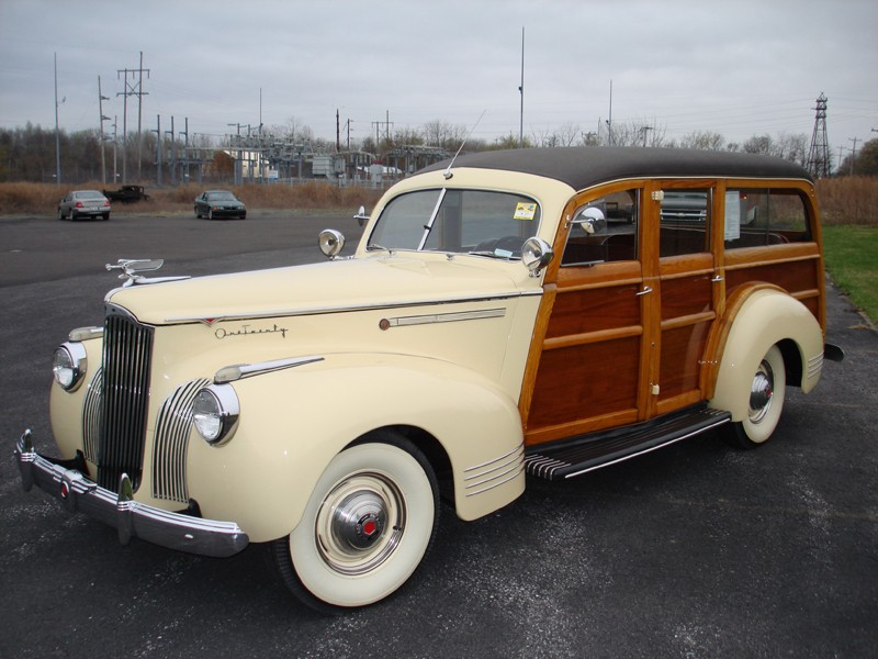 Packard Woody Wagon – Left Sider Front-800×600